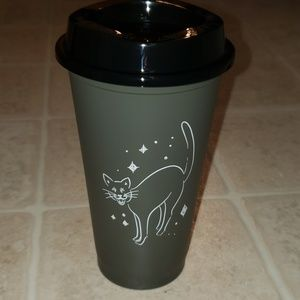 Starbucks Limited Edition Halloween Cat Cup 16oz